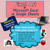 Pixel Art in Microsoft Excel or Google Sheets - VOLUME 4