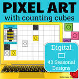 Pixel Art with Counting Cubes - Seasonal Designs