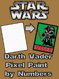 Pixel Color by Number - Darth Vader - STAR WARS - Busy/Sub Work