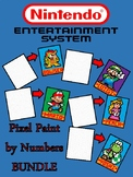 Pixel Color by Number - NINTENDO Mario Brothers 5in1 BUNDLE - Busy/Sub Work