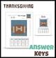 Football for Thanksgiving    pixel art for practicing fractions decimals percent