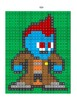 Pixel Color by Number - Yondu - Guardians of the Galaxy and Avengers - Busy Work
