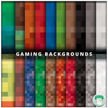 Pixel Papers Digital Backgrounds