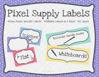 Pixel Supply Labels