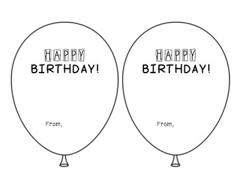 Pixy Stix Birthday Balloon
