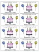 Pixie Stick Birthday Balloons