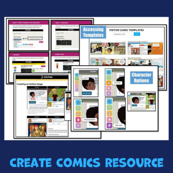 Pixton Make Comics Guide
