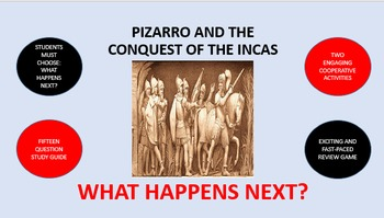 Pizarro and the Conquest of the Incas:  What Happens Next?