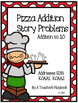 Pizza Addition Story Problems