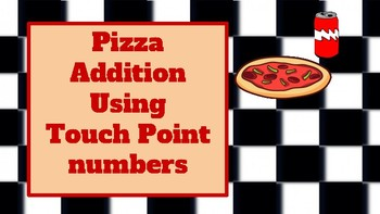 Pizza Addition using touch point number cards