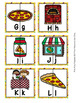 Pizza Alphabet Letter Match Puzzles