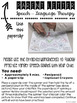 Pizza Theme Articulation Spinner Worksheets - Print & Go Speech Therapy Activity