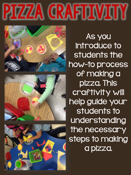 Pizza At Sally's (Procedural Reading & Writing Unit)