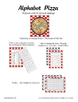 Pizza Based Preschool  ~ Focus Alphabet E ~ Patterns Clothes Pin Cards & More