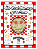 Pizza Based Preschool  ~ Focus Alphabet E ~ Patterns Cloth