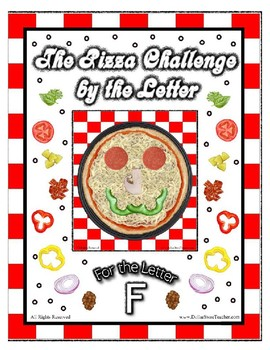 Pizza Based Preschool  ~ Focus Alphabet F ~ Patterns Cloth