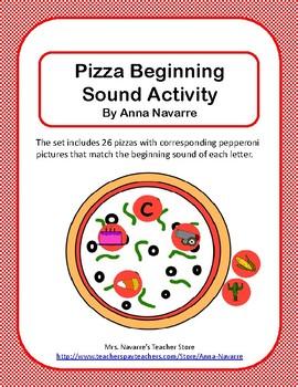 Pizza Beginning Sounds