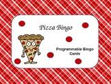 Pizza Bingo (Programmable for Math or Language Arts)