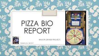 Pizza Biography Report Project -For any content area