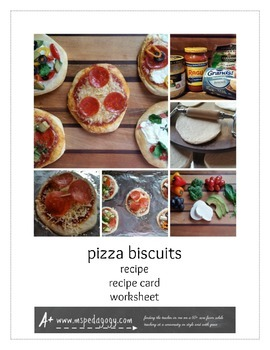 Pizza Biscuits Recipe and Lab