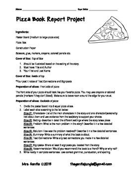 Pizza Box Book Reprt