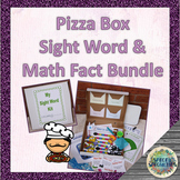 Pizza Box Sight Words & Math Facts Kit