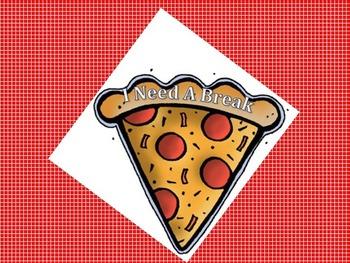 Pizza Break Card
