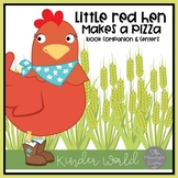 The Little Red Hen Makes a Pizza and Pizza Centers Bundle