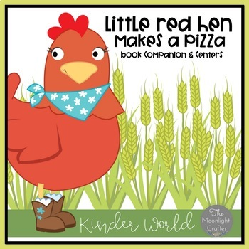 Pizza Bundle with The Little Red Hen Makes a Pizza and Piz