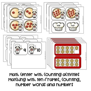 Pizza Centers for Kindergarten and Pre-K
