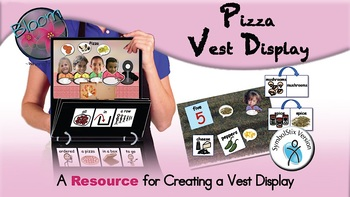 Pizza Chant - Vest Display - SymbolStix