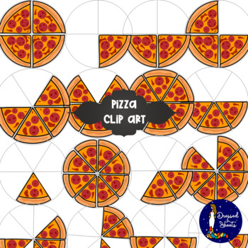 Pizza Clip Art by Dressed In Sheets   Teachers Pay Teachers