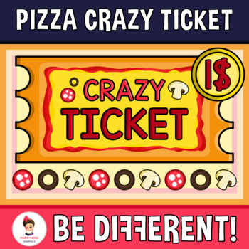 Pizza Clipart (Crazy Ticket)