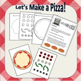 Pizza Coloring Activity