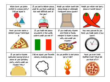 Pizza Conversation Starters