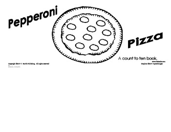 Pizza Count 1 to 10