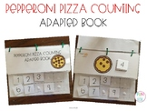 Pizza Counting Adapted Book