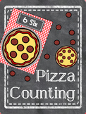 Pizza Counting Numbers 1-20