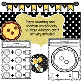 Pizza Counting and Addition Activities