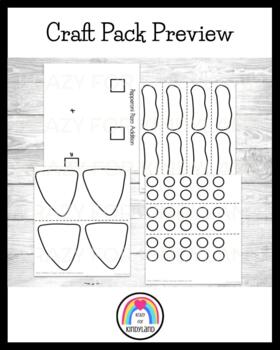 Pepperoni Pizza Addition (to 10) Craft