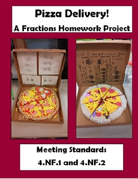 Pizza Delivery! A Fractions Homework Project