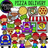 Pizza Delivery {Creative Clips Clipart}
