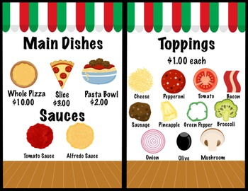 graphic about Pizza Printable called Pizza Remarkable Engage in with Printable Pizza and Elements