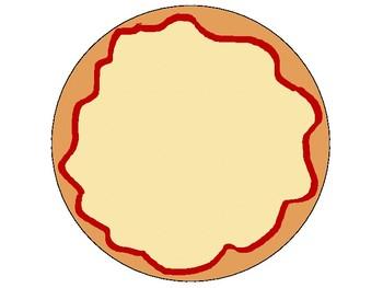 Pizza File Folder Game