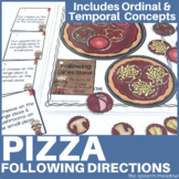 Following Directions and Sequencing   Pizza  