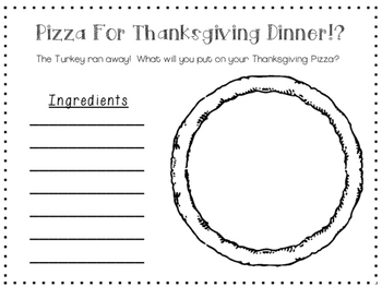 Pizza For Thanksgiving! Writing Center