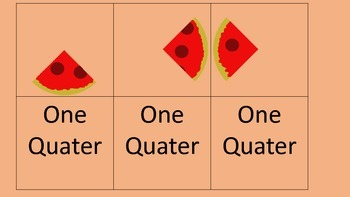 Pizza Fraction Cards