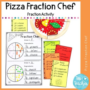 Pizza Fraction Chef