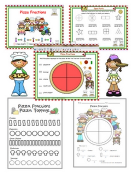 Pizza Fraction Fun Complete Kit!