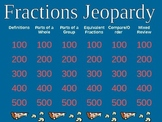 Pizza Fraction Jeopardy